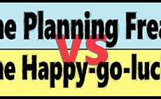 The Planning Freak VS the Happy-Go-Lucky article cover