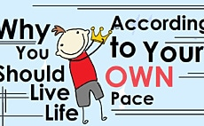 Why You Should Live Life According to Your Own Pace article cover