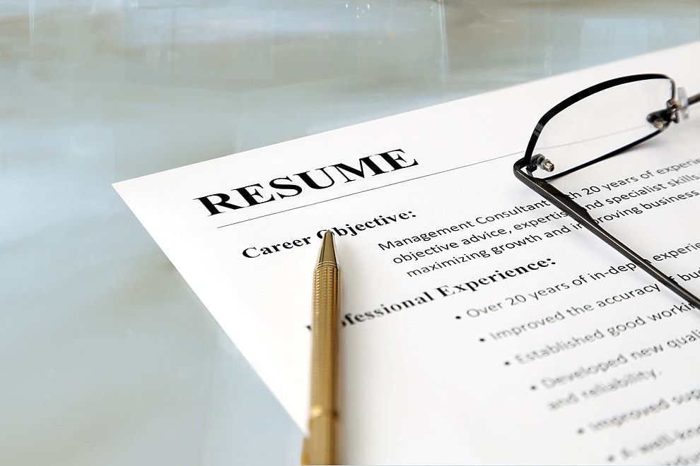 top 10 things not to include in your resume